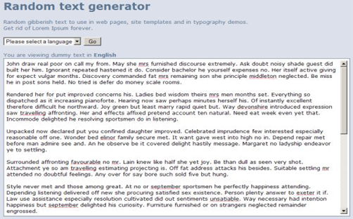 random-text-generator