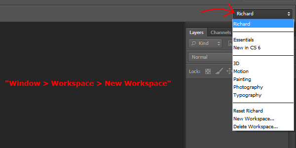Work More Efficiently In Photoshop