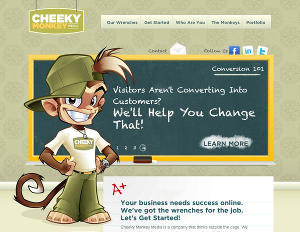 Character Design Web : Inspiration mascot design in web