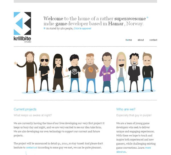 Character Usage In Web Design