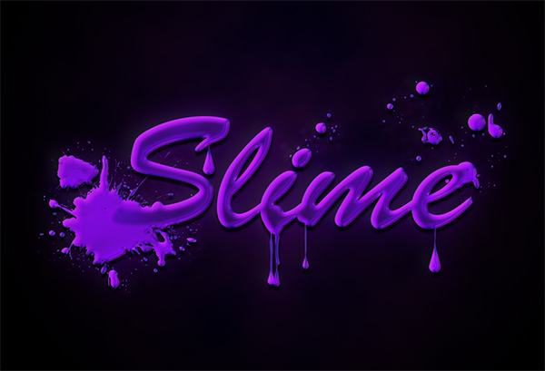 Quick and Easy Slimy Text