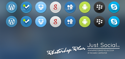 Just Social A Premium Icon Set