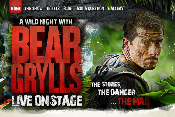A Wild Night with Bear Grylls