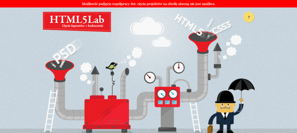HTML5 Lab - Fresh Examples of HTML5 Websites