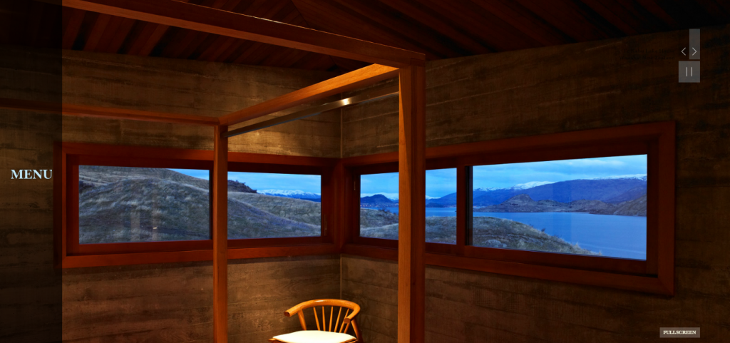 Te Kahu Lake House - Examples of Large Photo Background Websites