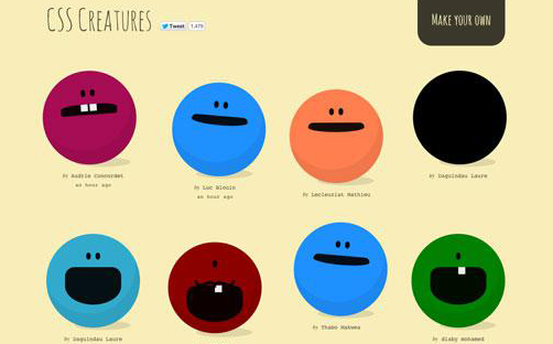 Most Creative and Inspiring Examples of CSS3 Animation