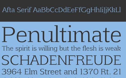 1-Afta-Serif