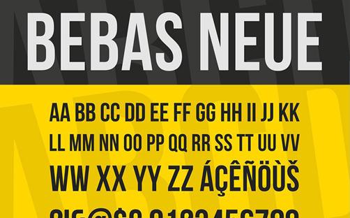 2-Bebas-Neue