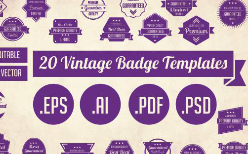3-20-Vintage-Badge-Templates