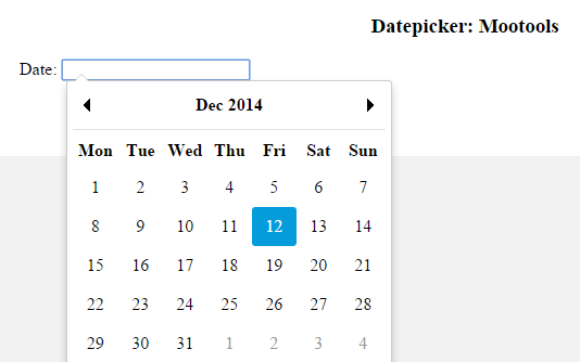 Using Datepicker in Javascript: 5 Libraries you should give