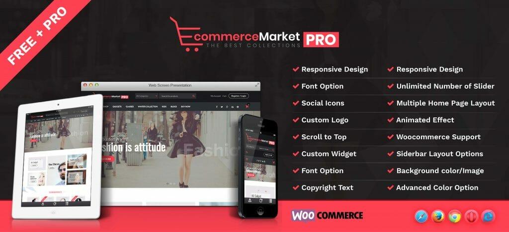 eCommerce Market Pro – A Complete Woocommerce theme - Rigorous Themes