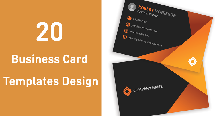 20 business card templates design cheaphphosting Image collections
