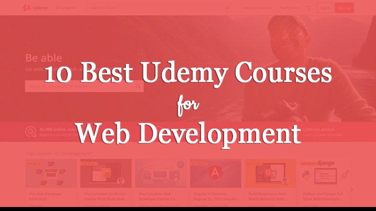 10 Best Udemy Courses for Web Development