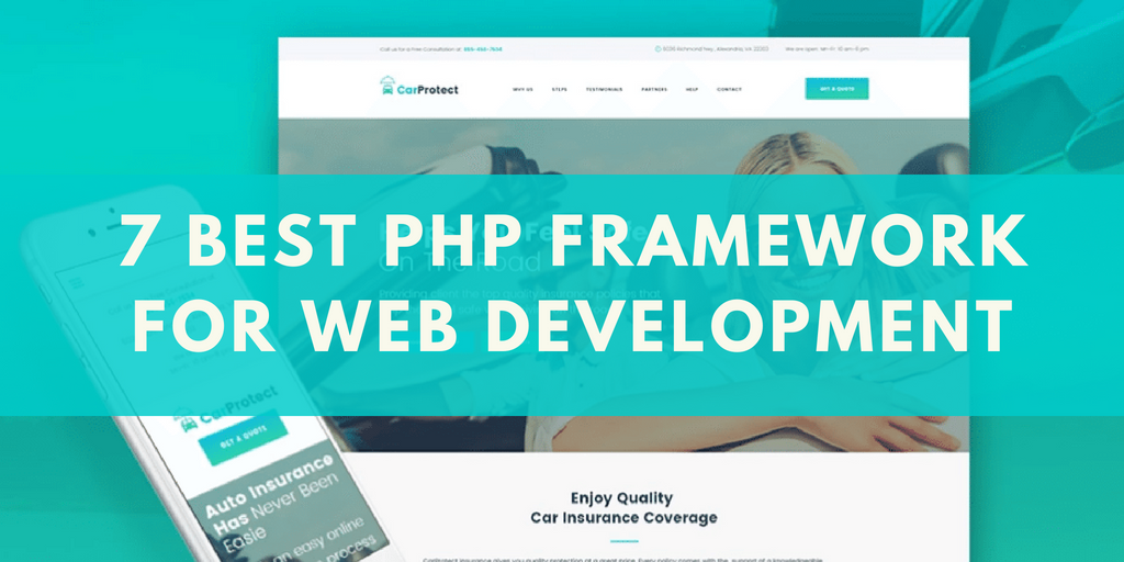 7 Best PHP Framework for Web Development