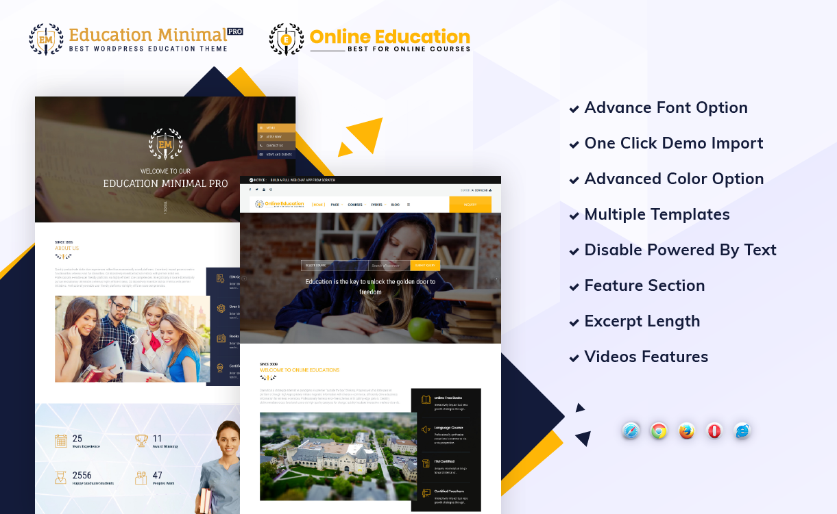 perfect and handly education wordpress theme
