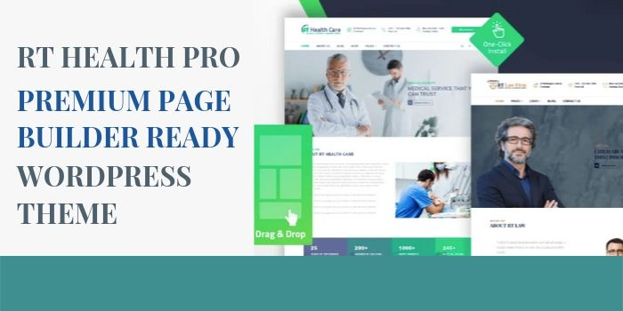 RT Health Pro – Premium Page Builder Ready Medical WordPress