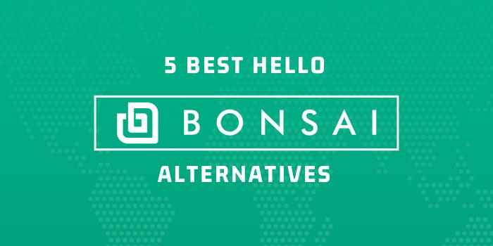 5 Best Hello Bonsai Alternatives Rigorous Themes