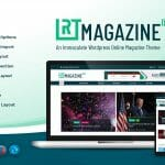 Amazing Online Magazine Theme- RT Magazine Pro by Rigorous Themes!