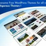 7 Awesome Free WordPress Themes for all niche by Rigorous Themes!