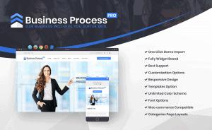 Promo Banner Business WordPress Theme